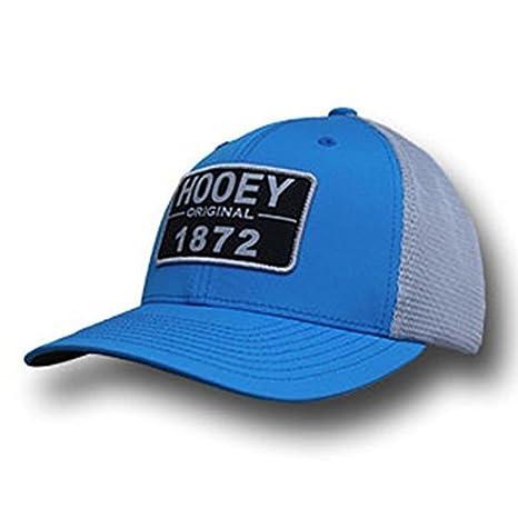 b32304e349 HOOey Brand Moab Blue/Grey Since 1872 Patch Snapback Trucker Hat -  1748T-BLGY