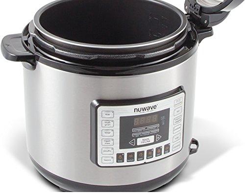 NuWave Nutri-Pot 8 Quart Digital Pressure Cooker,gray/black,8 qt. by NuWave (Image #8)