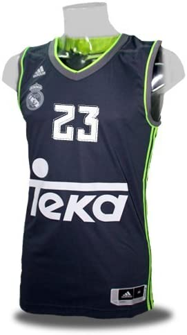 adidas 2ª equipacion Real Madrid de Baloncesto 2015-2016 ...