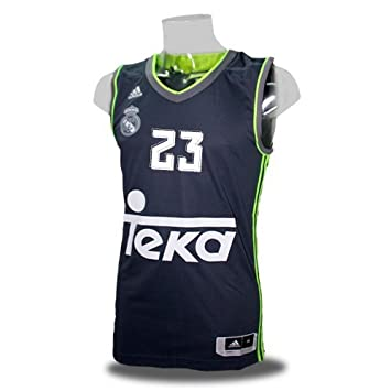 adidas 2ª equipacion Real Madrid de Baloncesto 2015-2016 - Camiseta Oficial para Hombre, Talla XL: Amazon.es: Zapatos y complementos