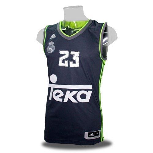 Camiseta Real Madrid Basket 2ª 2015-16