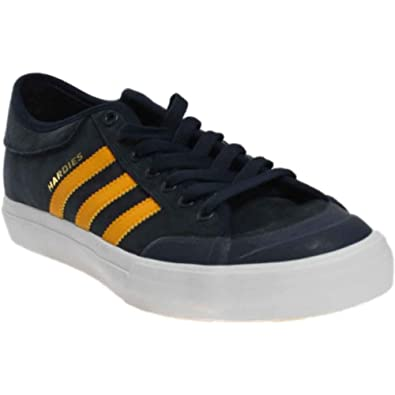 reputable site bbf18 db2ec adidas x Hardies Matchcourt Lo Men s Skate Shoes (11) Blue
