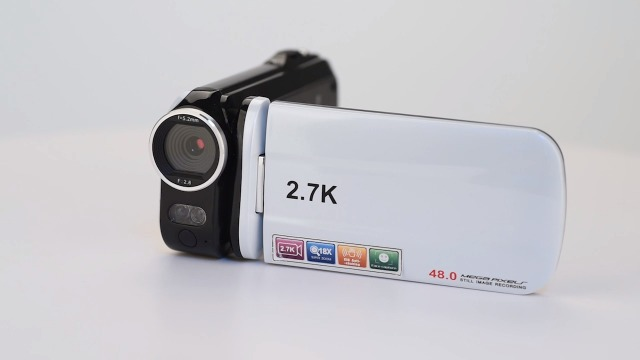Video Camera Camcorder,Touch Screen Mini Compact YouTube Vlogging Camera Recorder Full HD 1080P 30FPS 48MP 3.0 Inch 270 Degree Rotation Screen 18X Digital Zoom Camcorder