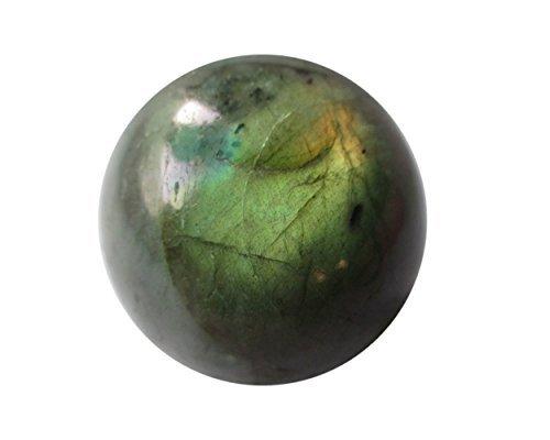 WholesaleGemShop 45 mm Spectrolite LABRADORITE Crystal Sphere Feldspar Natural Ball Mineral Stone Sphere - Madagascar ...