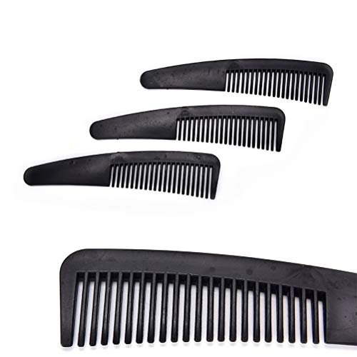 Teemint 1pcs Tourmaline Energy Comb Therapy Comb Health Care Hair Head Message Hair Brush Pursuit Of A Healthy Person 3 To 5 Times A Day