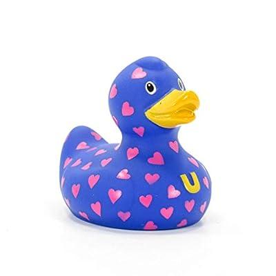 Love Love Love (mini) Rubber Duck by Bud Ducks | Elegant Gift Packaging -