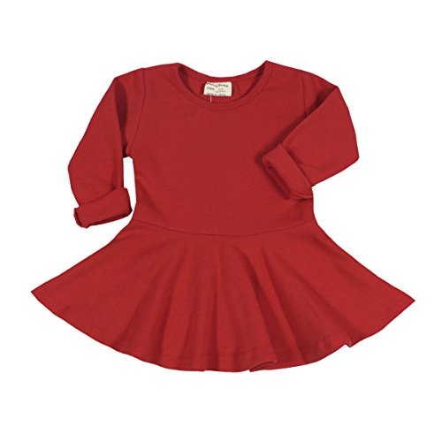 Long Sleeve Girls Dress - 6