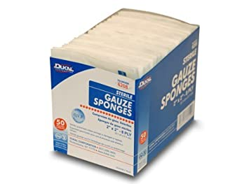 Amazon 2 X Gauze Sponges Sterile 50pkgs Of Health