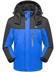 ZSHOW Men's Anorak Waterproof Windproof Ski Jacket with Hood