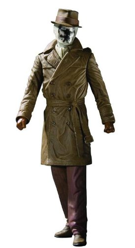 [Watchmen Movie Rorschach Action Figure] (The Watchmen Silk Spectre Costume)
