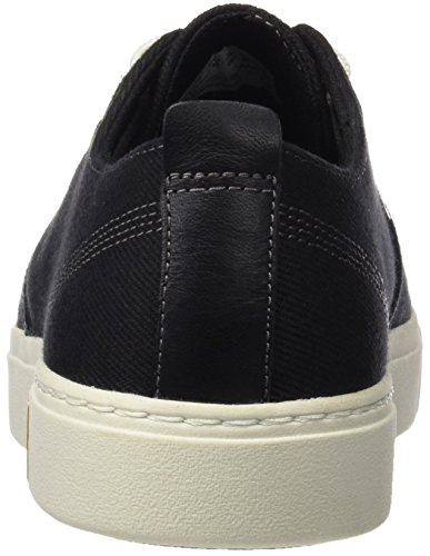 Timberland Herren Amherst Ptojet Black Cotton Canvas Oxford Grün (Jet Black Cotton Canvas)