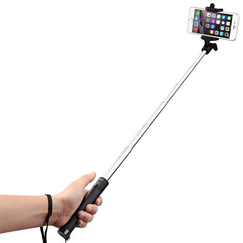 Amazon Lightning Deal 73% claimed: Mpow iSnap X One-piece U-Shape Self-portrait Monopod Extendable Selfie Stick