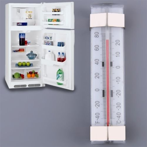 Price comparison product image Alicenter(TM) New Kitchen Shelf Hanging Fridge Freezer Traditional Temperature Thermometer H
