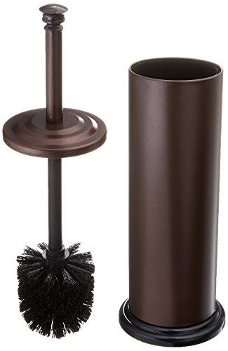 Estilo EST0105B-2 Stainless steel Toilet Brush & Holder, Bronze (Pack of 2),, ()