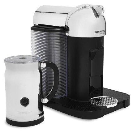 Nespresso Vertuoline Coffee And Espresso Maker With Aeroccino Plus Milk Frother Black