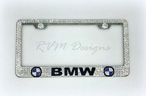 (Bling License Plate Frame made with Swarovski Crystals - Car Jewelry)