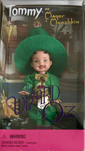Barbie The WIZARD of OZ TOMMY DOLL as MAYOR MUNCHKIN (1999)