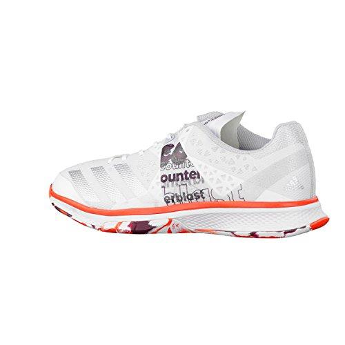 adidas Counterblast Falcon W, Chaussures de Handball Femme, Blanc Cassé (Bianco Ftwbla/Plamet/Energi), 40 EU