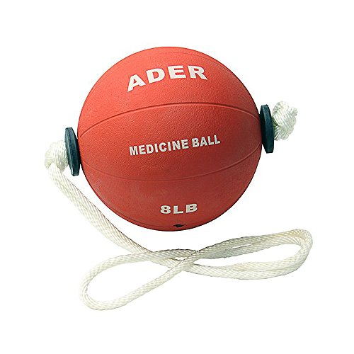 8 Lb Power Rope Medicine Ball