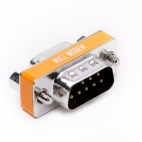 Null modem cable adapter