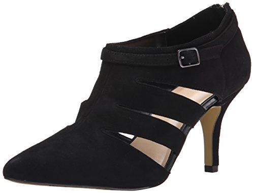 Bella Vita Frauen Dylan Spitzenschuhe Wildleder Fashion Stiefel Black Suede