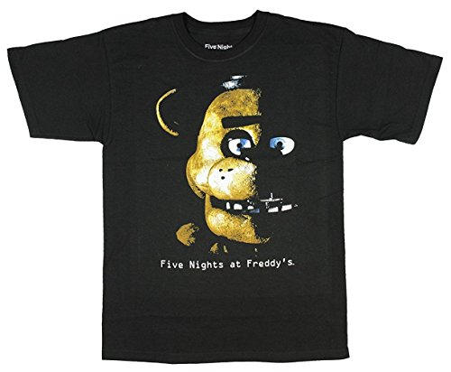 five-nights-at-freddys-eclipse-boys-youth-t-shirt-licensed-large