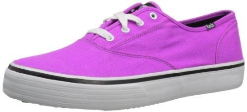 Keds Women's Double Dutch Neon Trainers 38 EU Pink (neon purple normal)