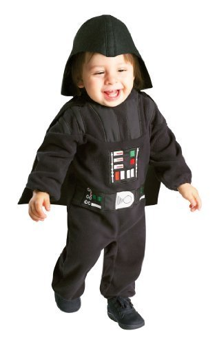 Rubie's Costume Star Wars Darth Vader Romper, Black, 12-24 (Life Saver Costume)