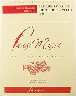 Book Premier livre de pièces de clavecin - 1738
