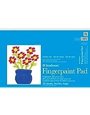 "Strathmore (27-118) STR-27-118 30 Sheet Kids Finger-Paint Pad, 12 by 18"""