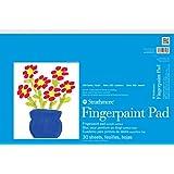Strathmore STR-27-118 30 Sheet Kids Finger-Paint Pad, 12 by 18\