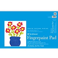 Strathmore (27-118) STR-27-118 30 Sheet Kids Finger-Paint Pad, 12 by 18""