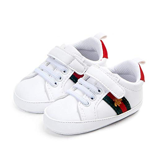 Baby Girls Boys Embroidery Shoes Toddler First Walker Infant Sneakers Newborn Soft Sole Crib Shoes
