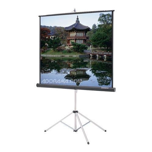 84IN Picture King 50X67 Matte Wht 4:3 Video Tripod Screen (Discontinued by - Picture Tripod King Matte