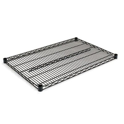 Alera SW583624BL  Industrial Extra Wire Shelves, 36w x 24d, Black (Case of 2)