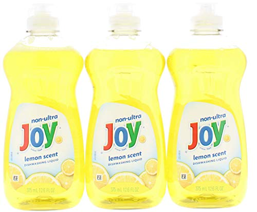(3 Pk. Joy Non-Ultra Dishwashing Liquid Lemon Scent 12.6 Fl Oz (37.8 Fl. Oz Total))