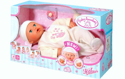 Baby Annabell 18 inch Doll Interactive Animated Turns, used for sale  Delivered anywhere in USA