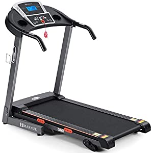 """Treadmill Electric Motorized Running Machine with 2.5 HP Power 15 Preset Programs 17""""Wide Tread Belt 8.5 MPH Max Speed for Home Use"""