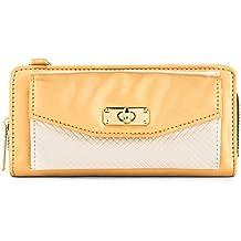 Women's Bag Zip Wallet Clutch [Credit Card Slots] [Organizer] [Strap] For Huawei Valiant Y301-A1 | 4Afrika | Premia 4G Smartphones