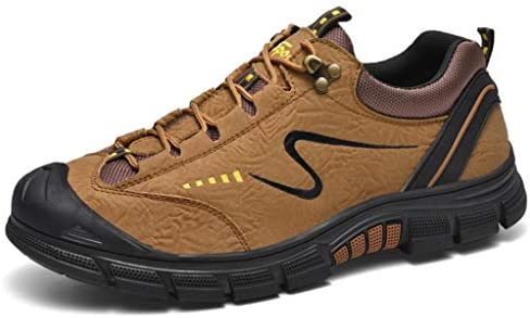 歩きやすい ハイキングシューズ 防滑 メンズ 軽量 安定感 通気性 痛くない レースアップ ラウンドトゥ スポーツシューズ 春 夏 ジョギング ランニング レインシューズ ローカット おしゃれ 快適 耐磨耗 柔軟性