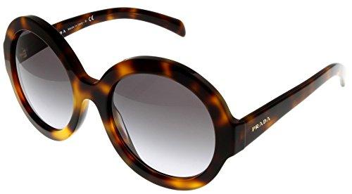 Price comparison product image Prada Sunglasses Women Havana Round PR06RS TKR3D0