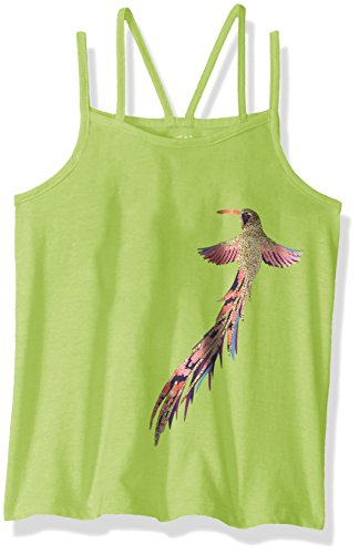 Crazy 8 Girls Big Double Strap Graphic Tank,