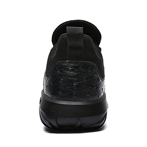 Soulsfeng Scarpe Da Corsa Da Uomo Sneakers Da Donna Leggere Scarpe Da Ginnastica Leggere Traspiranti In Palestra, Scarpe Sportive Da Viaggio. Nero Nero