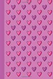Journal: Pink and Purple Hearts 6x9 - LINED JOURNAL - Journal with lined pages - (Diary, Notebook) (Hearts Lined Journal S...