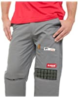 Burson work pants with built-in removable knee pads