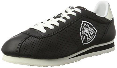 Blauer USA Bowling, Sneaker Basse Uomo Nero (Nero)