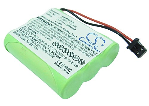 Cameronsino 1300mAh Replacement Battery for Uniden CXAI5198