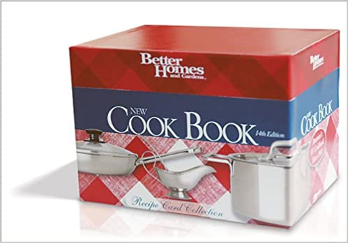 Better Homes and Gardens New Cook Book: Recipe Card Collection: 200 of the Best Recipes (Better Homes & Gardens Plaid) Cards – Bargain Price, October 23, ...