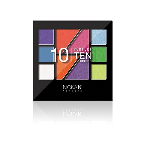 Nicka K New York Perfect 10 Colors Palette (Perfect 10 Eye Palette)