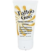Tattoo Goo Original Aftercare Lotion Tube Healing Salve, 2 oz